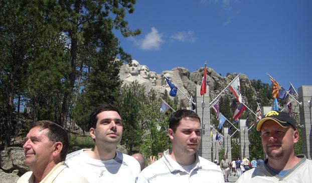 modern Mount Rushmore